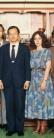 Con el Presidente de Taiwan1986
